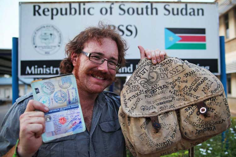 Man Travels The World In Less Than 4 Years Without Flying