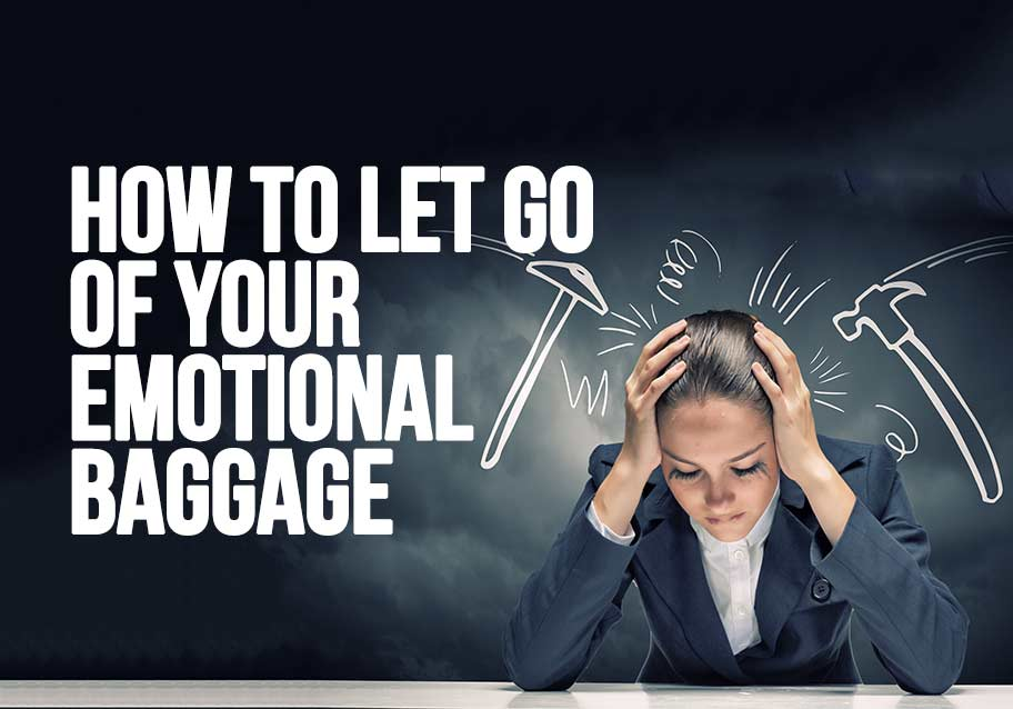 emotional baggage,positive thinking,,excess baggage,meditation for letting go,