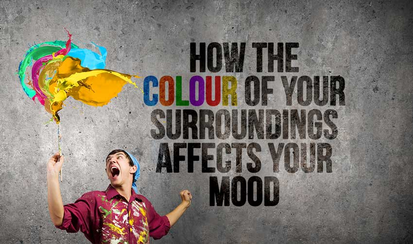 How The Colour Of Your Surroundings Affects Your Mood
