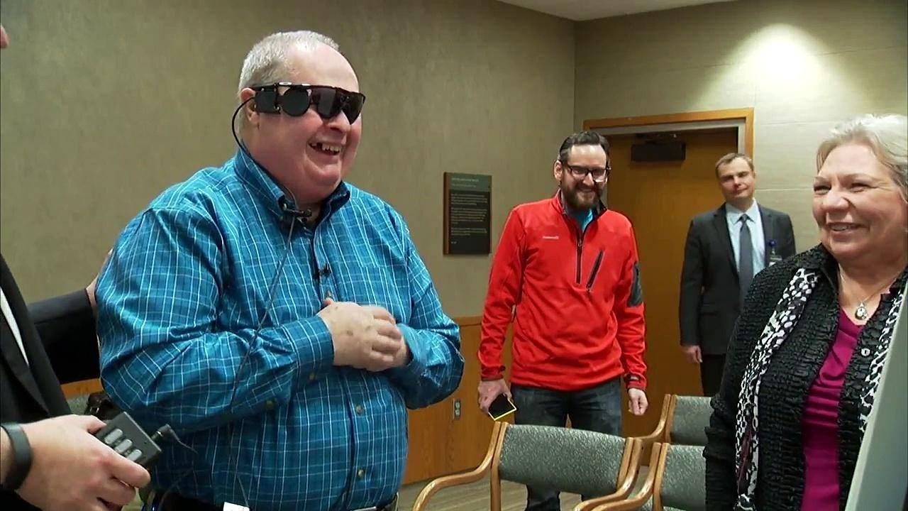 Welcome To The Future: Bionic Eye Helps Blind Man See Again