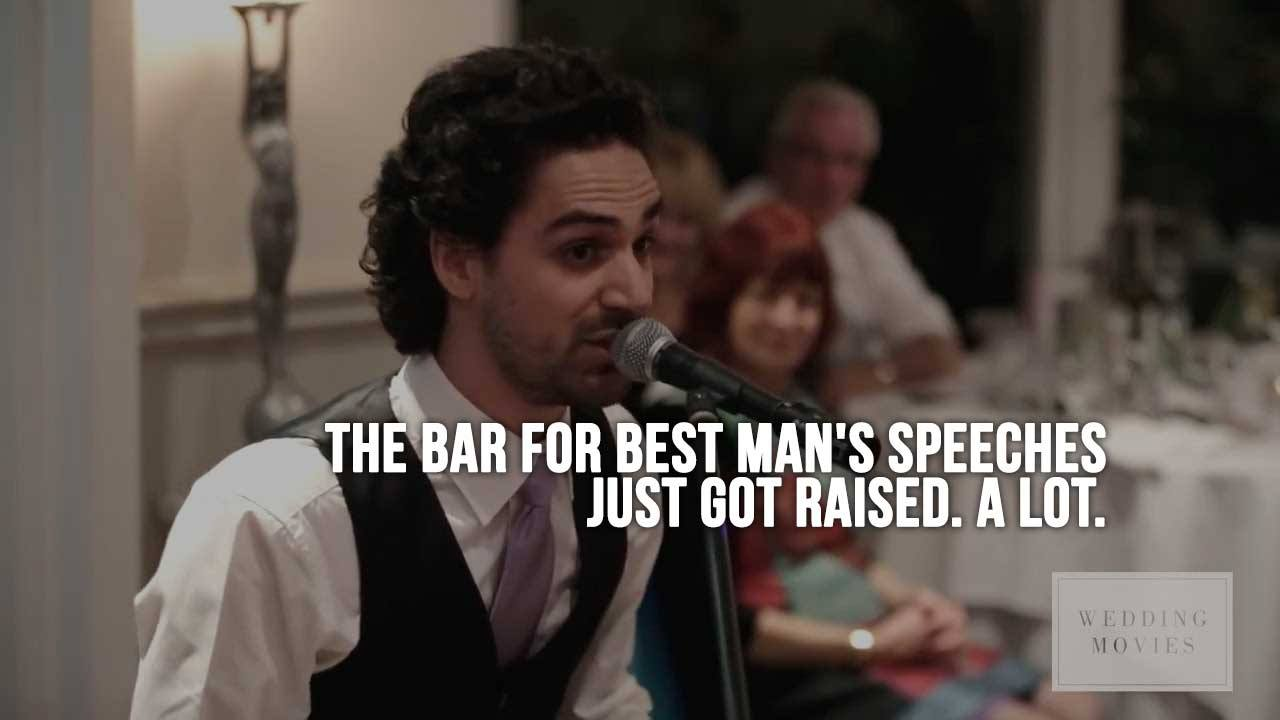 The Bar for Best Man's Speeches Just Got Raised. A Lot.