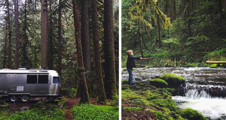 This family sold everything they own to visit 400 national parks in an Airstream Bus
