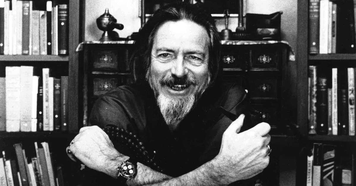 Bringing the East to the West: 20 Eye Opening Quotes from Alan Watts
