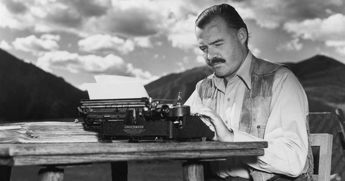 16 Lessons for Life and Love from Ernest Hemingway