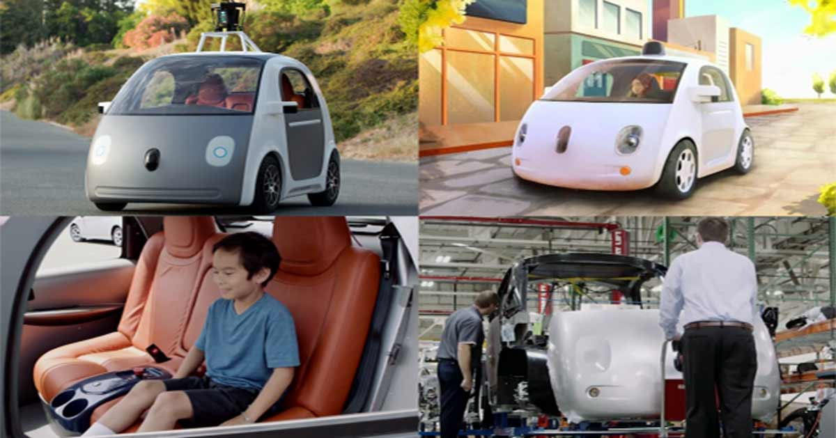 Google's New Automated Cars on Hitting the Streets