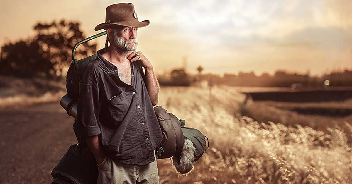 Photographer Captures Breathtaking Portraits Of Homeless To Inspire Change