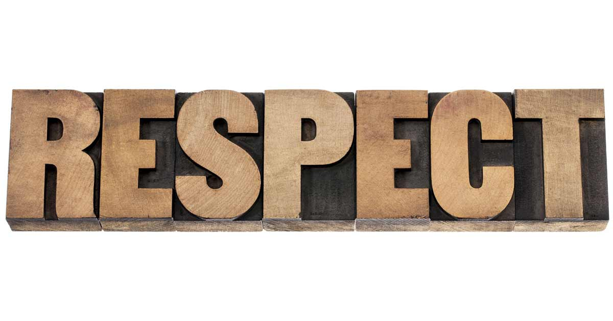 5 Tips to Gain and Maintain People's Respect