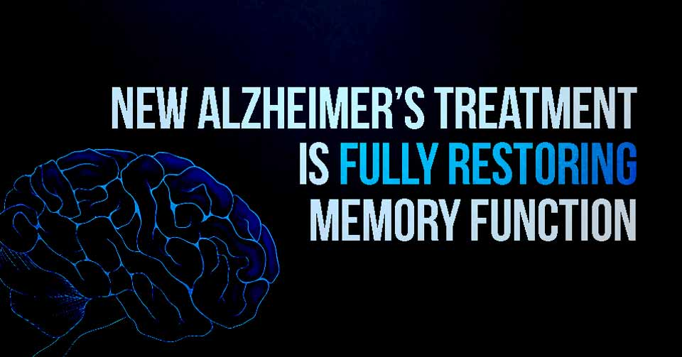 New Alzheimer's Treatment is Fully Restoring Memory Function