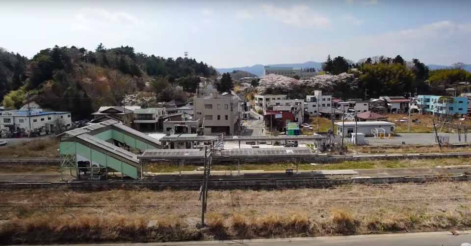 Stunning Drone Footage of the Fukushima Wasteland