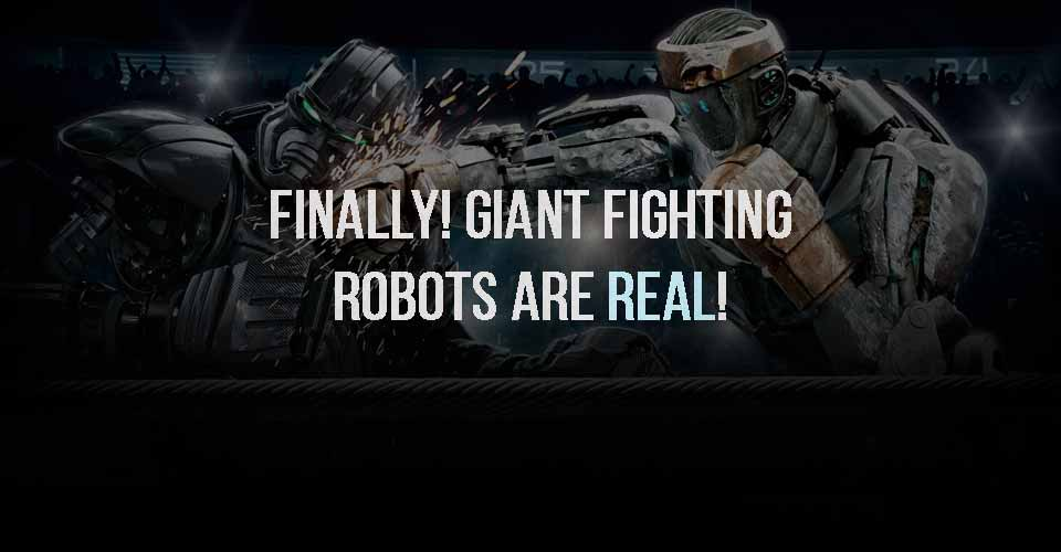 FINALLY!! Giant Fighting Robots are Real
