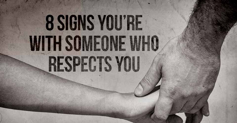 Someone Who Respects You