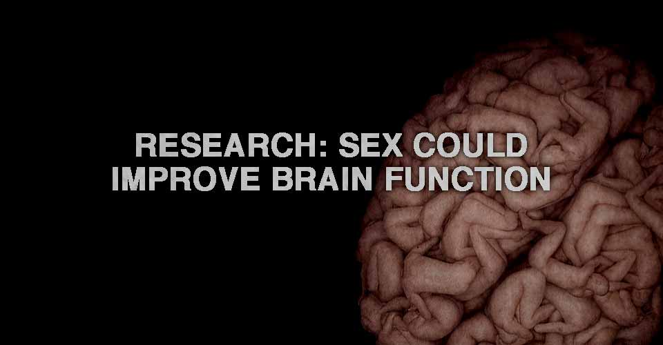 Sex good for brain function