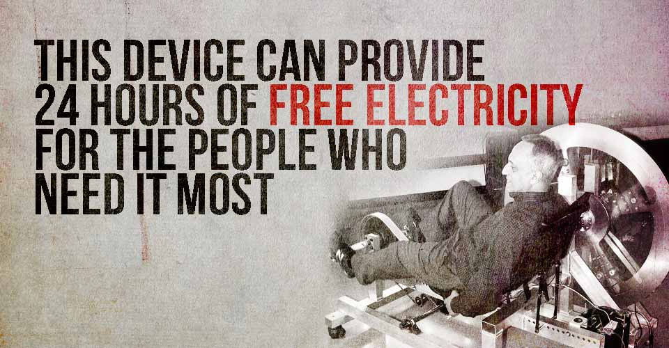 This Device can Provide 24 Hours of Free Electricity for the People Who Need It Most