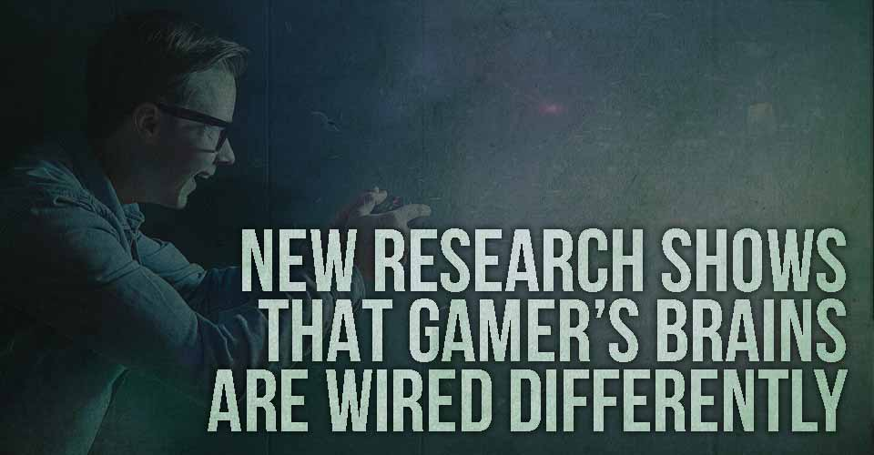 New Research Shows That Gamer's Brains are Wired Differently