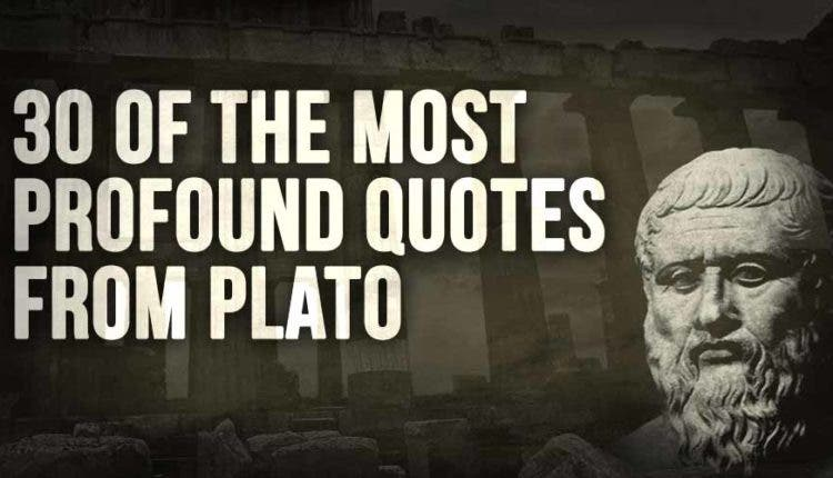 40 Of The Most Profound Quotes From Plato I Heart Intelligence Enchanting Profound Quotes