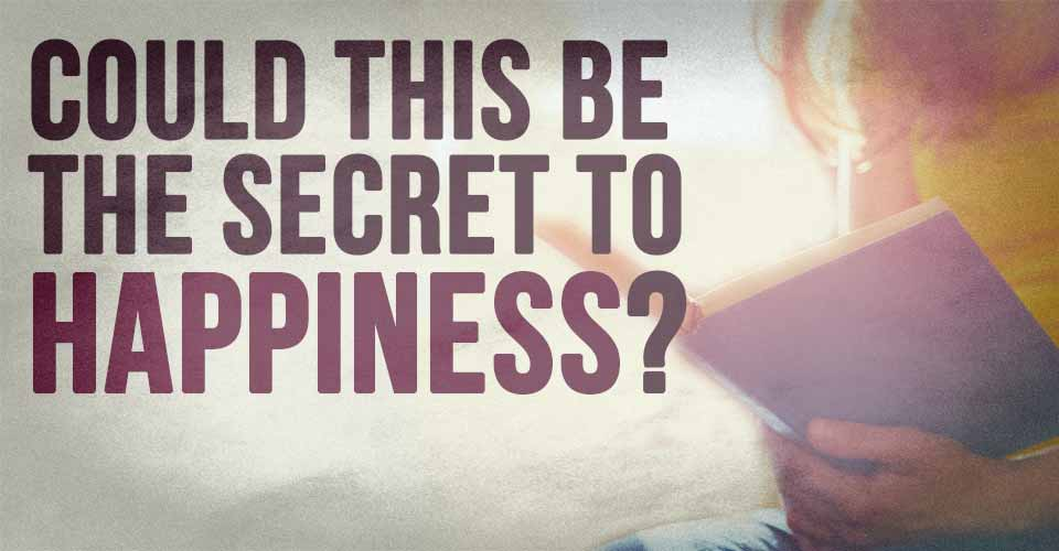 Could This Be The Secret To Happiness?