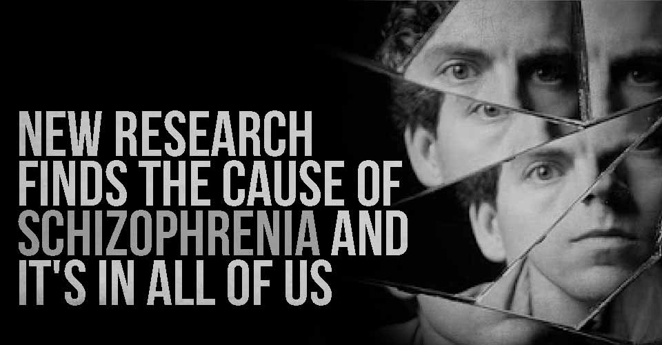 New Research Finds The Cause Of Schizophrenia And It's In All Of Us