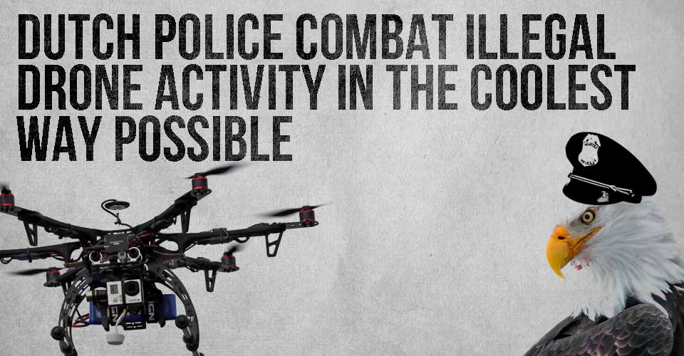 Dutch Police Combat Illegal Drone Activity in the Coolest Way Possible