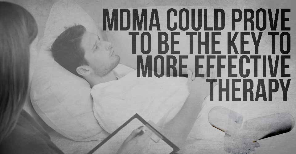 MDMA Could Prove to be the Key to More Effective Therapy