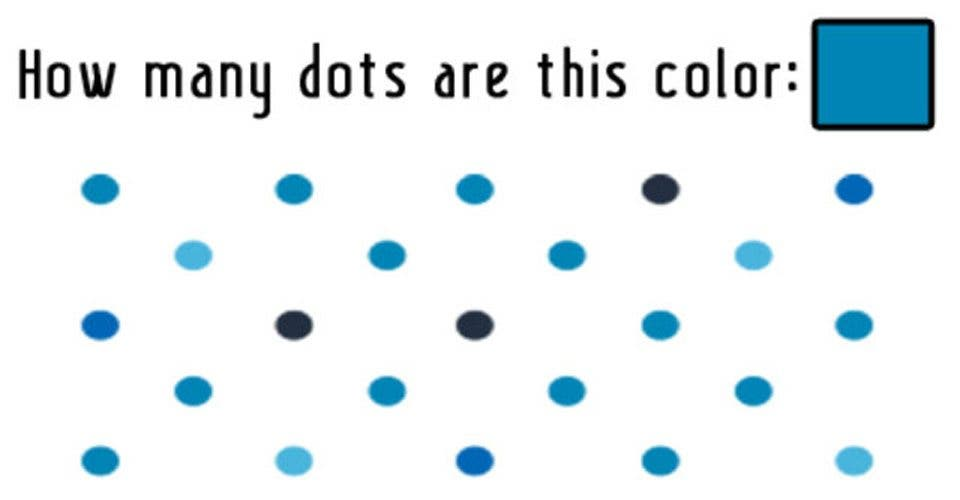 Less Than 4% Of People Can Solve This Color Test In Their First Try
