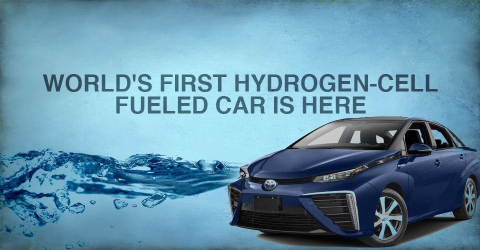 The World's First Hydrogen-Cell Fueled Car Is Here