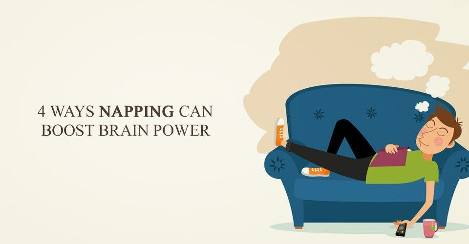 4 Ways Napping Can Boost Brain Power