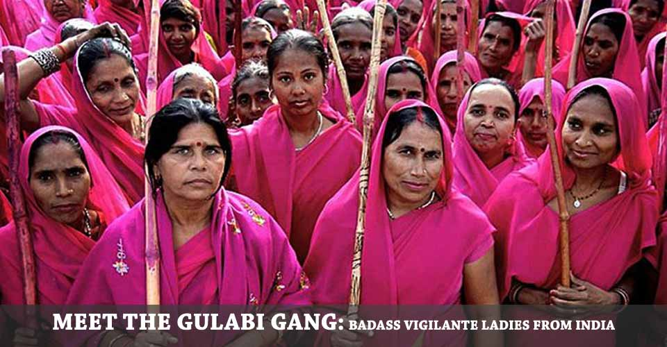 The Gulabi Gang: Women and Justice in India