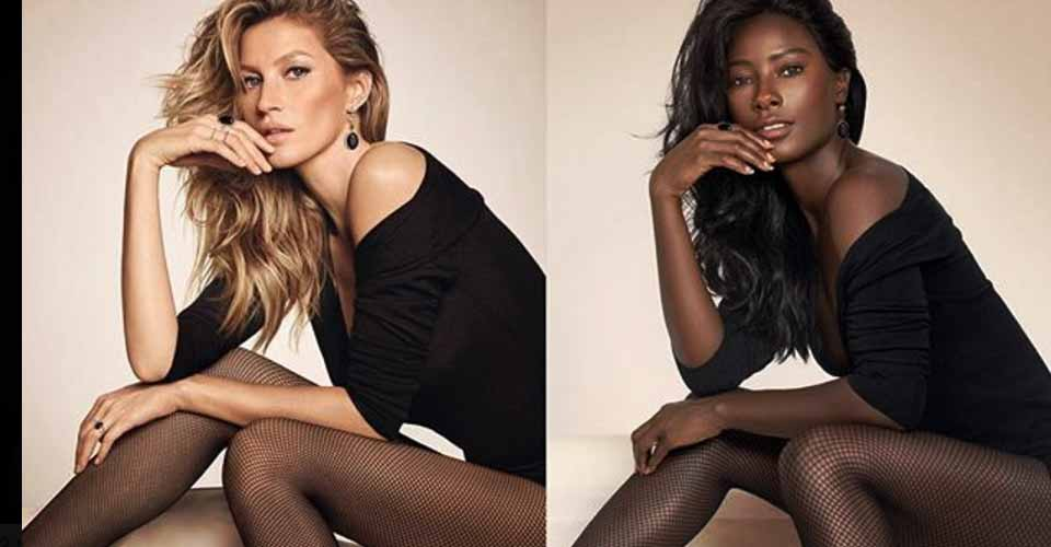 'Black Mirror': African Model Recreates Iconic Ads To Expose Lack Of Diversity In The Industry