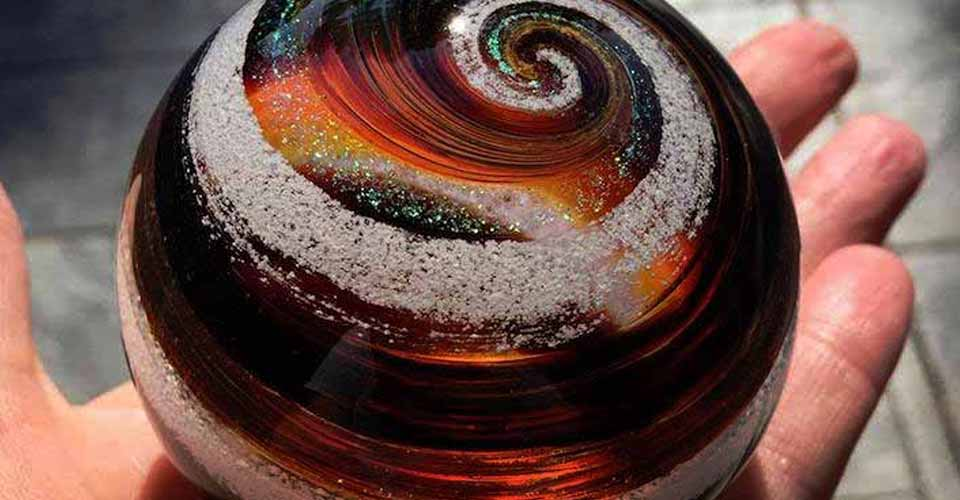 This Company Is Turning The Ashes Of Your Loved Ones Into Stunning Glass Creations