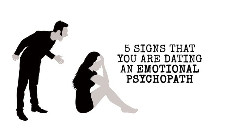 Signs youre dating a psycho girlfriend