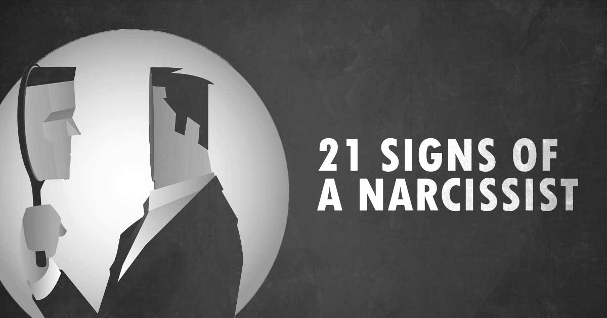 21 Signs of a Narcissist
