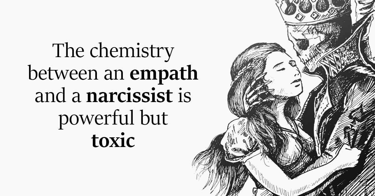 The Chemistry Between an Empath and a Narcissist Is Powerful But