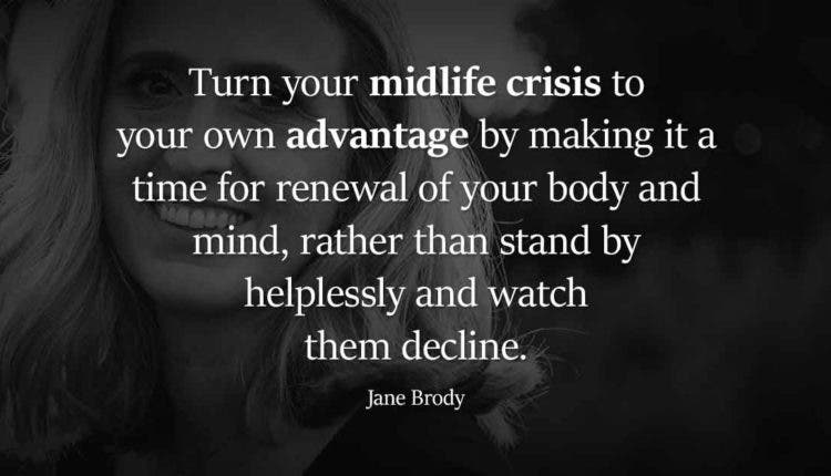 How to deal midlife crisis reach destiny