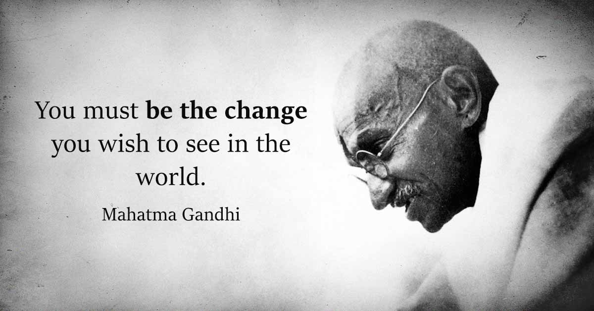 14 Of The Most Inspiring Quotes By Mahatma Gandhi