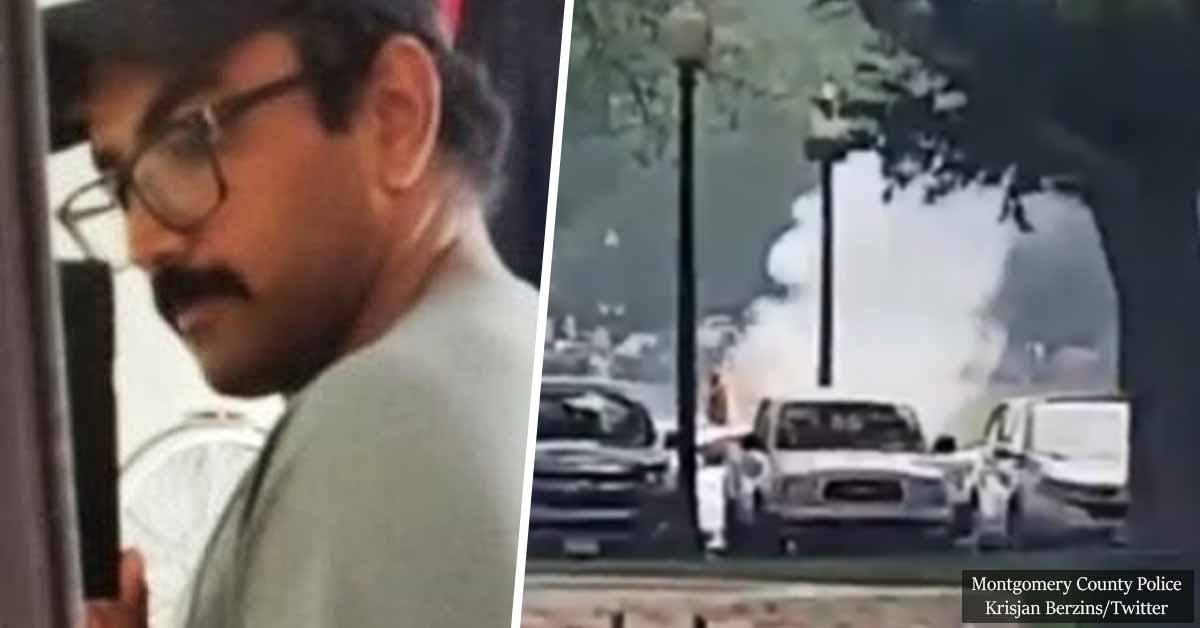 Hallucinating Man Sets Himself On Fire Outside The White