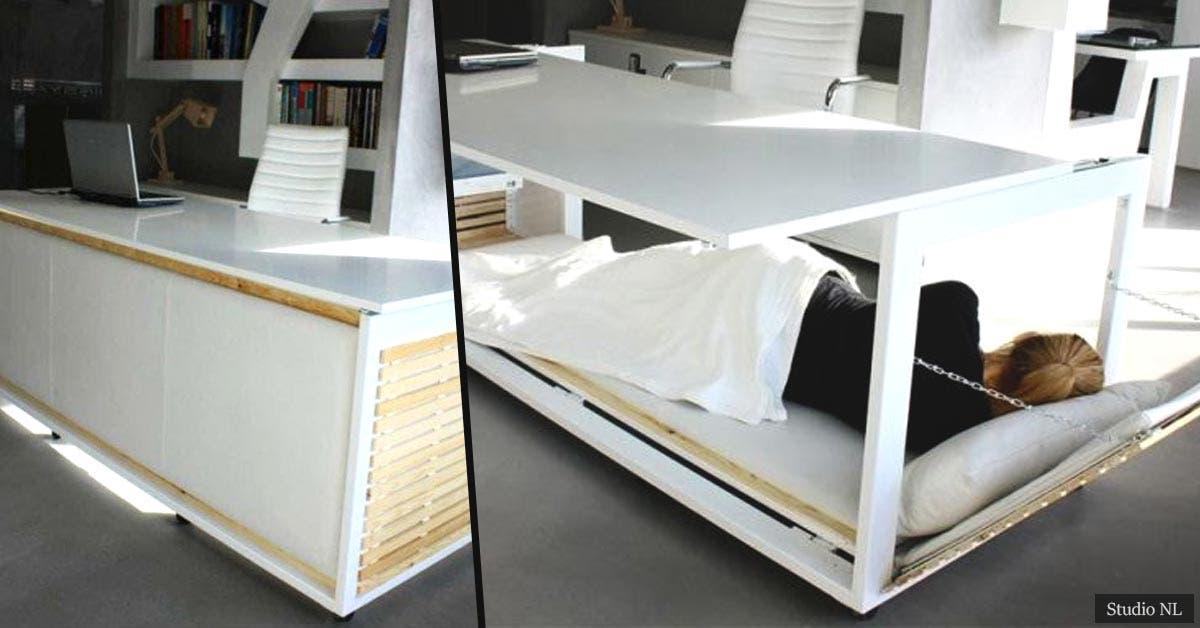 The amazing nap desk we all need in our lives to be more productive