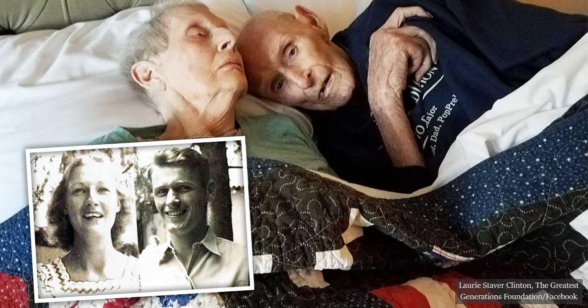 Couple Who Served in WWII Together, Married for Seven Decades, Pass Away on Same Day