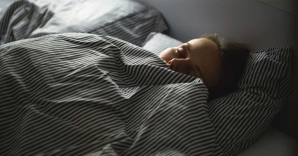 Stressed to the max? A good night sleep can recharge your anxious brain