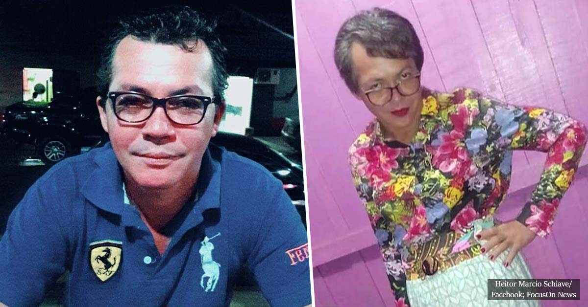 Son, 43, is caught dressing up as his 60-year-old mother so he could pass her driving test for her