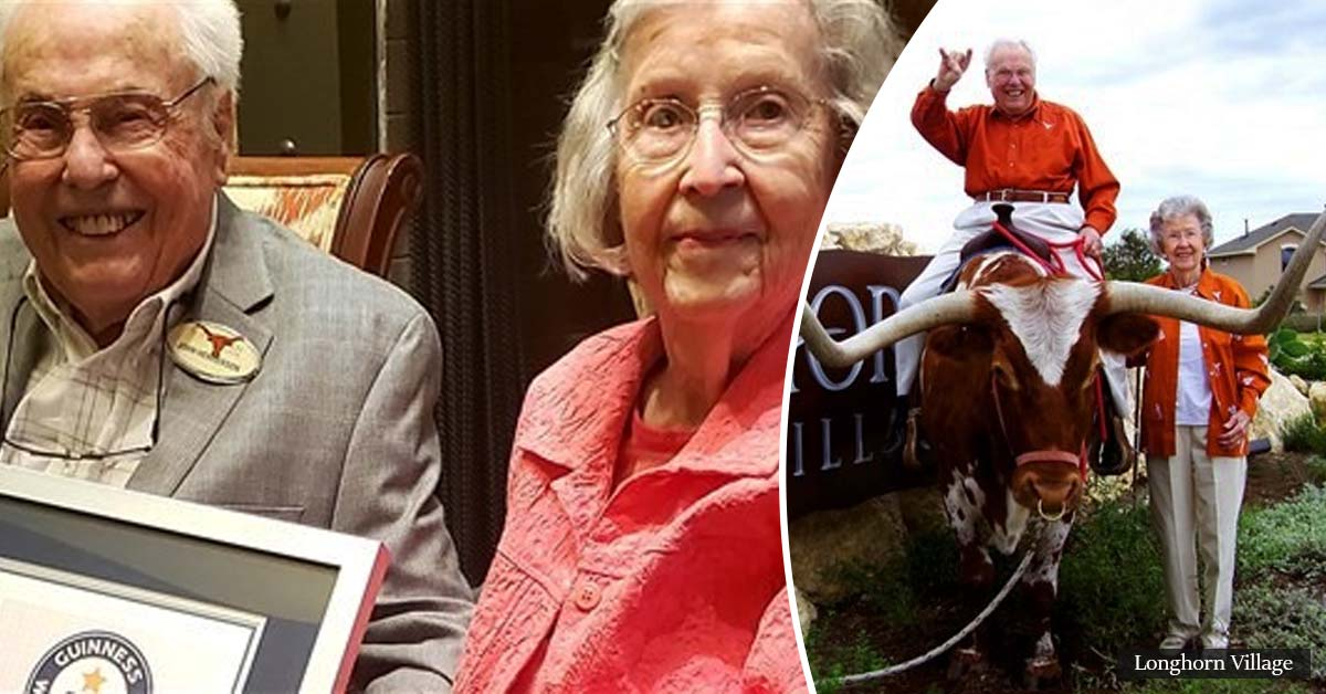 Couple with a combined age of 211 celebrates 80 years of marriage