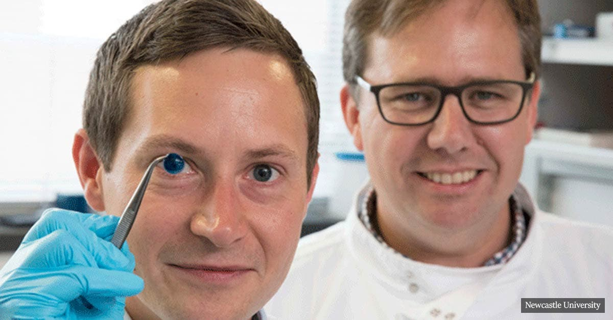 World's first 3D printed human corneas to prevent corneal blindness
