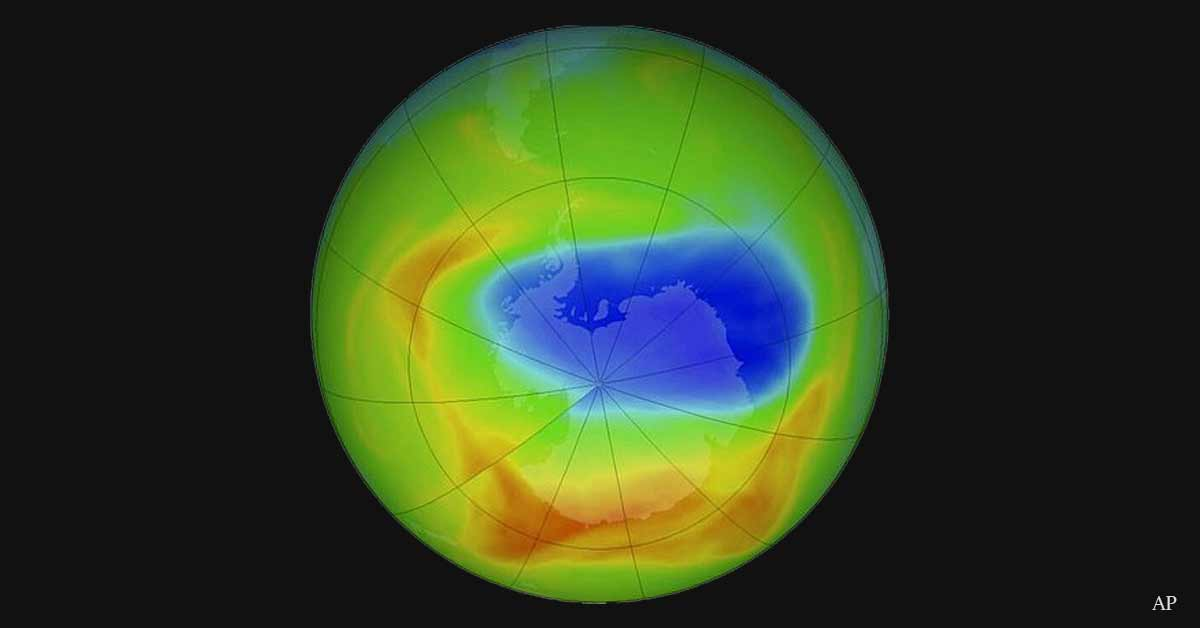 Earth's ozone layer is HEALING! A massive decline in damaging chemicals in the atmosphere reverses troubling changes in air currents around the Southern Hemisphere