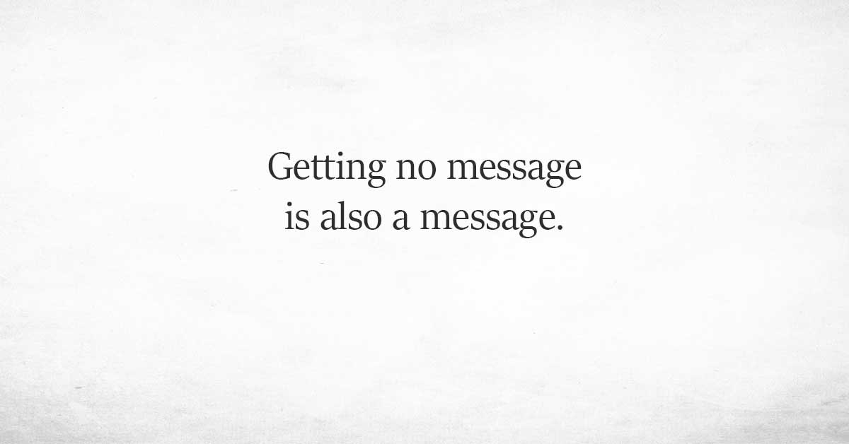 If Your Crush Rarely Texts You It Could Mean More Than One Thing...