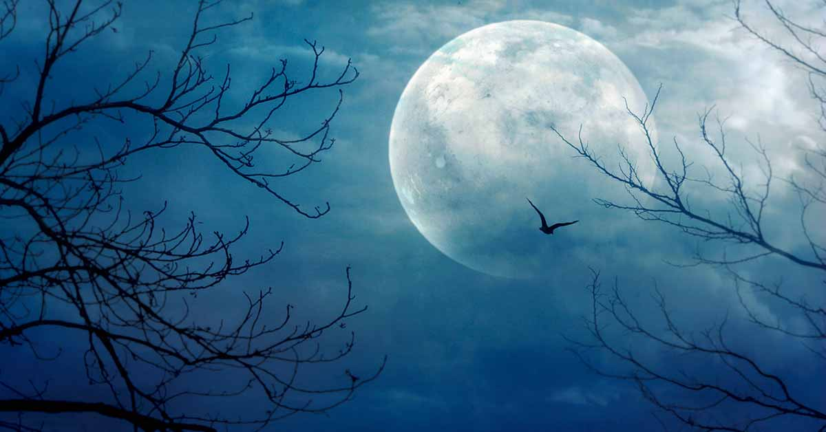 Rare Blue Moon Will Make This Halloween Extra Special