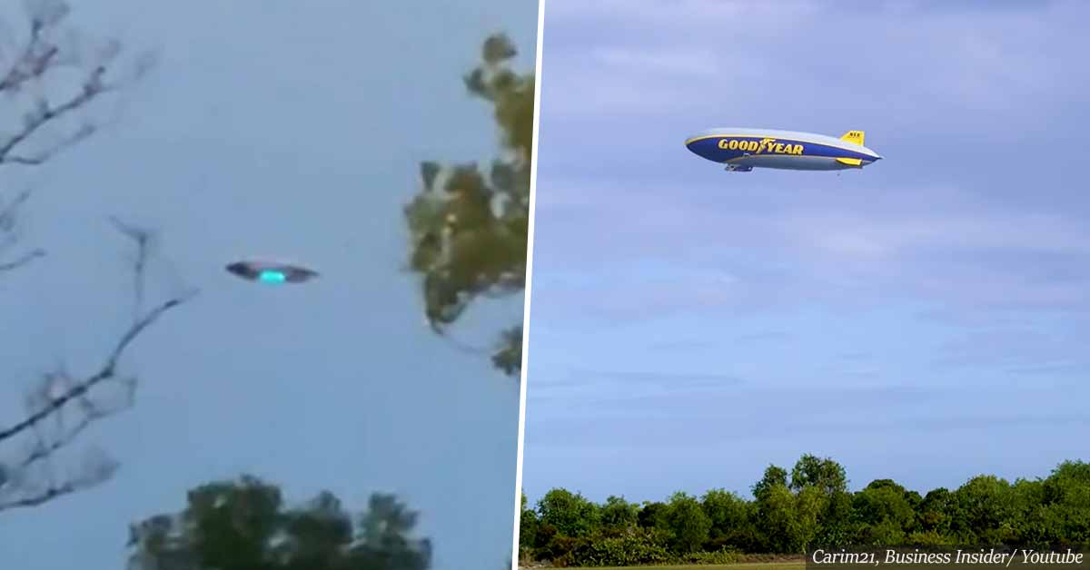 """""""New Jersey UFO sighting"""" - turns out to be just a Goodyear blimp"""