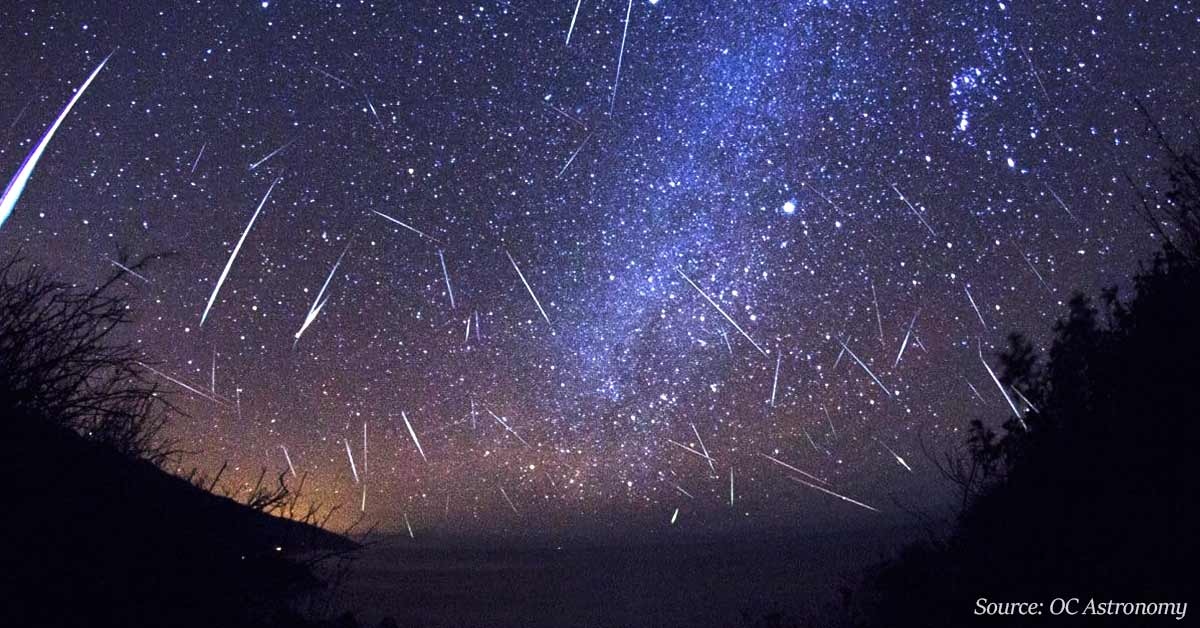 Striking Orionid Meteor Shower Will Light Up The Sky In October