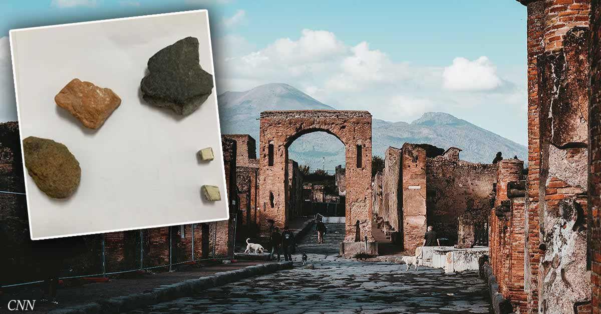 Tourist returns artifacts stolen from Pompeii after suffering 15-year-long curse